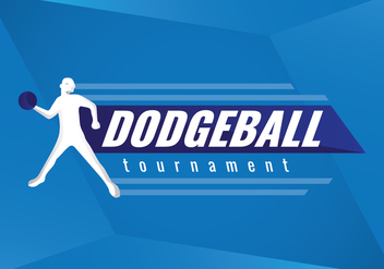 Free Dodgeball Tournament Vector Logo - vector gratuit #425313