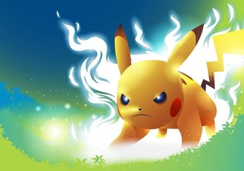 Pokemon Fight Pose Vector - Free vector #425323
