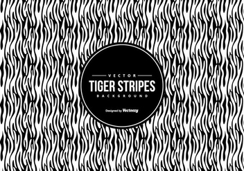 Black/White Tiger Pattern Background - Free vector #425493