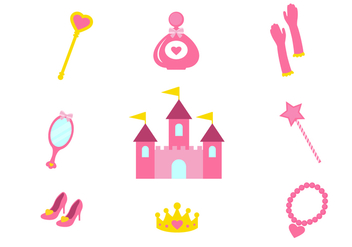 Free Princess Vector Icons - Free vector #425713