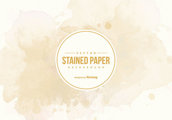 Stained Paper Background - vector #425773 gratis