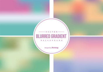 Blurred Backgrounds Collection - бесплатный vector #425843