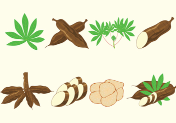 Cassava Vectors Icon - бесплатный vector #425903