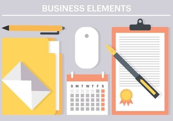 Free Vector Business Elements - Free vector #426073