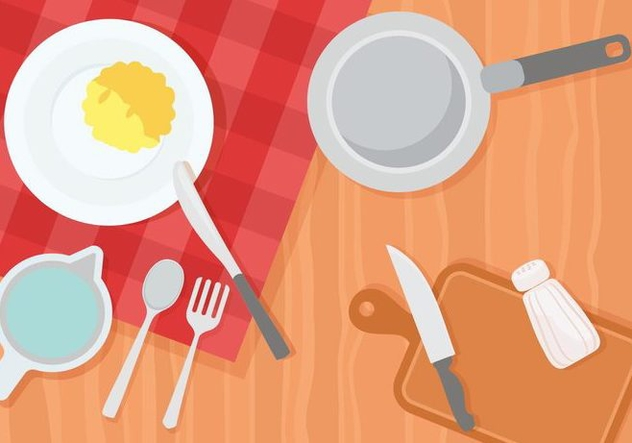 Free Cooking and Kitchen Illustration - vector #426143 gratis