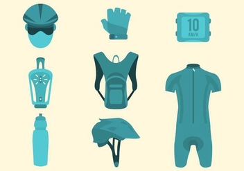 Free Bike Gear Vector Collection - бесплатный vector #426223