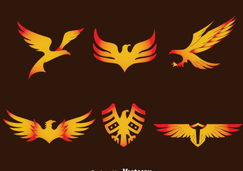Eagle Seal Vector Set - vector gratuit #426573