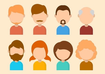 Free Personas Vector Collection - Free vector #426713