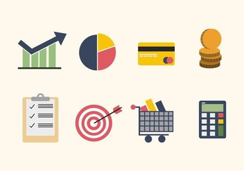 Flat Business Vectors - Free vector #426903