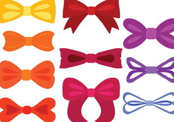 Free Colorful Ribbons Vectors - vector #426933 gratis