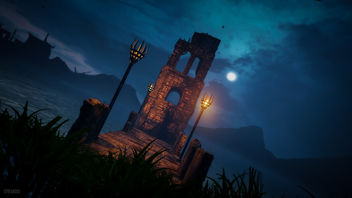 Middle Earth: Shadow of Mordor / At the Water at Night - Free image #427023