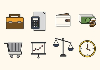 Flat Business Vectors - Free vector #427553