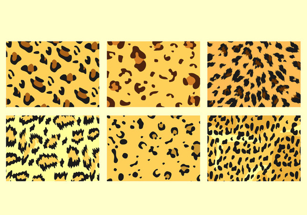 Free Leopard Pattern Vectors - Free vector #427573