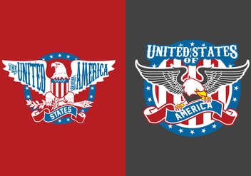 American Eagle Elements - vector gratuit #427593