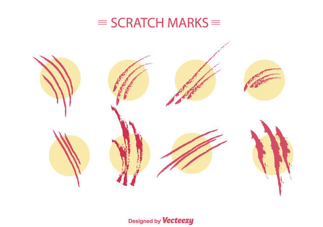 Scratch Marks Vector - бесплатный vector #427753