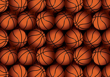 Vector Basketball Texture - Free vector #427833
