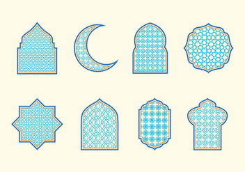 Islamic Ornaments Vector - Free vector #428053