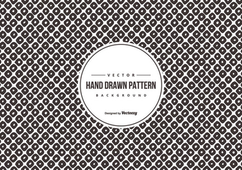 Hand Drawn Style Pattern Background - бесплатный vector #428453