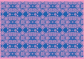 Islamic Ornaments Pink Vector - vector #428643 gratis