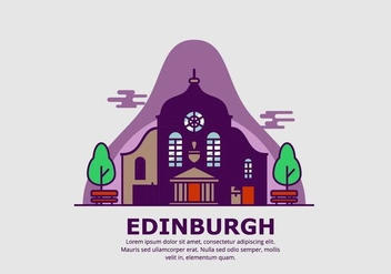 Edinburgh Background - бесплатный vector #428683