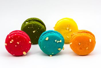 Tasty colorful macaroons - image gratuit #428733
