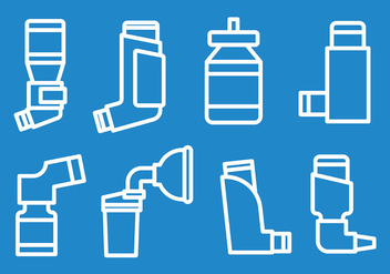 Free Asthma Icons Vector - Kostenloses vector #429113