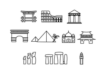 Free Landmark Icon Vector - vector #429183 gratis