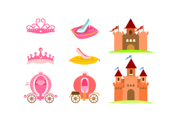 Castle Element Free Vector - vector #429323 gratis