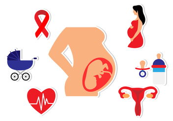 Maternity Flat Icon - Free vector #429603