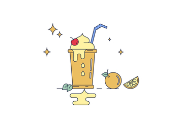 Free Smoothie Vector - Free vector #429973