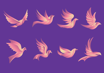 Dove Pigeon Beautiful Flying Illustration - vector gratuit #430113