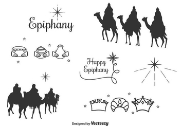 Epiphany Icons Vector Set - Kostenloses vector #430543
