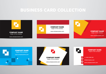 Business Card Collection - Kostenloses vector #430573