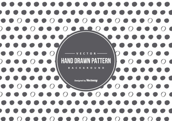 Cute Hand Drawn Style Pattern Background - Free vector #430833