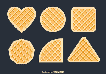 Waffles Vector Set - бесплатный vector #430893