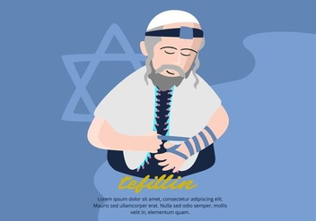 Tefillin Background - Free vector #430983