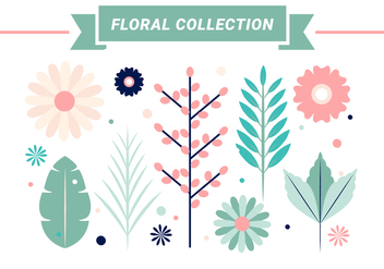 Free Spring Flowers Vector Design - Kostenloses vector #431043