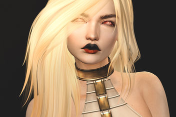 Lips Lilura by Zibska @ The Crossroads - image gratuit #431163