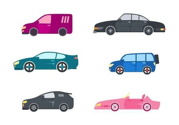 Free Outstanding Automotive Vectors - Kostenloses vector #431183