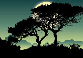 Beautiful Landscape Scene - vector #431213 gratis