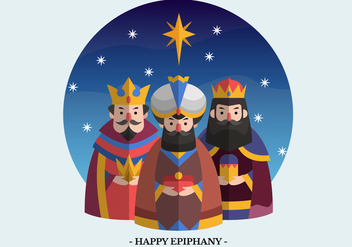 Epiphany Vector Character Illustration - Free vector #431243