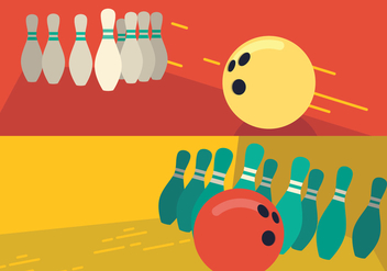 Bowling Lane Pin - vector #431563 gratis