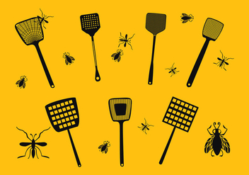 Fly Swatter Icon Free Vector - vector gratuit #431613