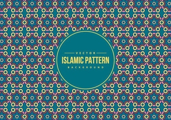Islamic Style Pattern Background - vector gratuit #431653