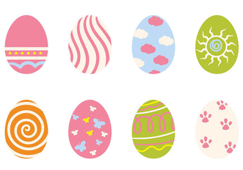 Easter Egg Icon Vector - Free vector #432153