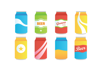 Softdrink Vector Pack - бесплатный vector #432573
