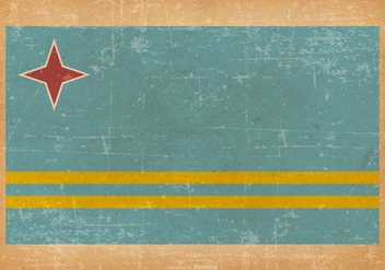 Grunge Flag of Aruba - бесплатный vector #432673