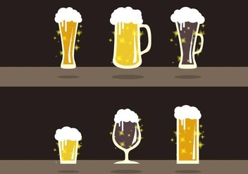 Cerveja Beer Flavors Illustration Vector - бесплатный vector #433183
