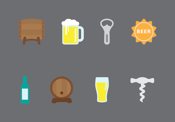 Free Beer Vector Icons - Free vector #433213