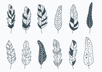 Pluma Collection - vector gratuit #433253